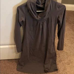 Brown athleta dress